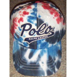 New Mens POLO Ralph Lauren Tie Dye Cap Hat $60
